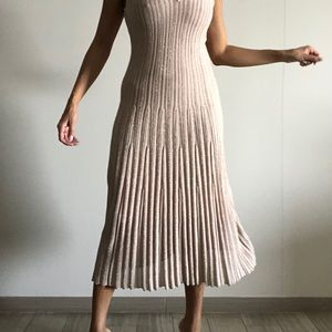 HM shimmery summer dress